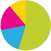 2011 General Operating Fund Pie Chart