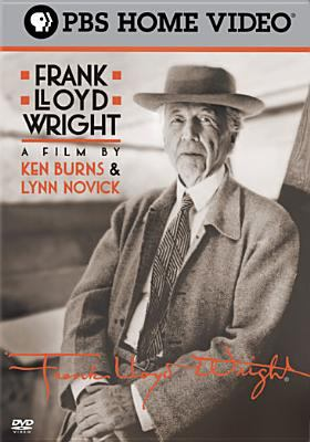 Black and white photo of Frank Lloyd Wright