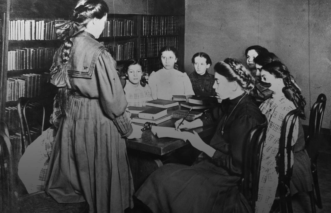 The Elizabeth Club at Woodland Branch, 1909
