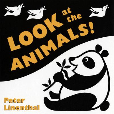 Look at the Animals jacket cover with a black an white panda bear and birds.