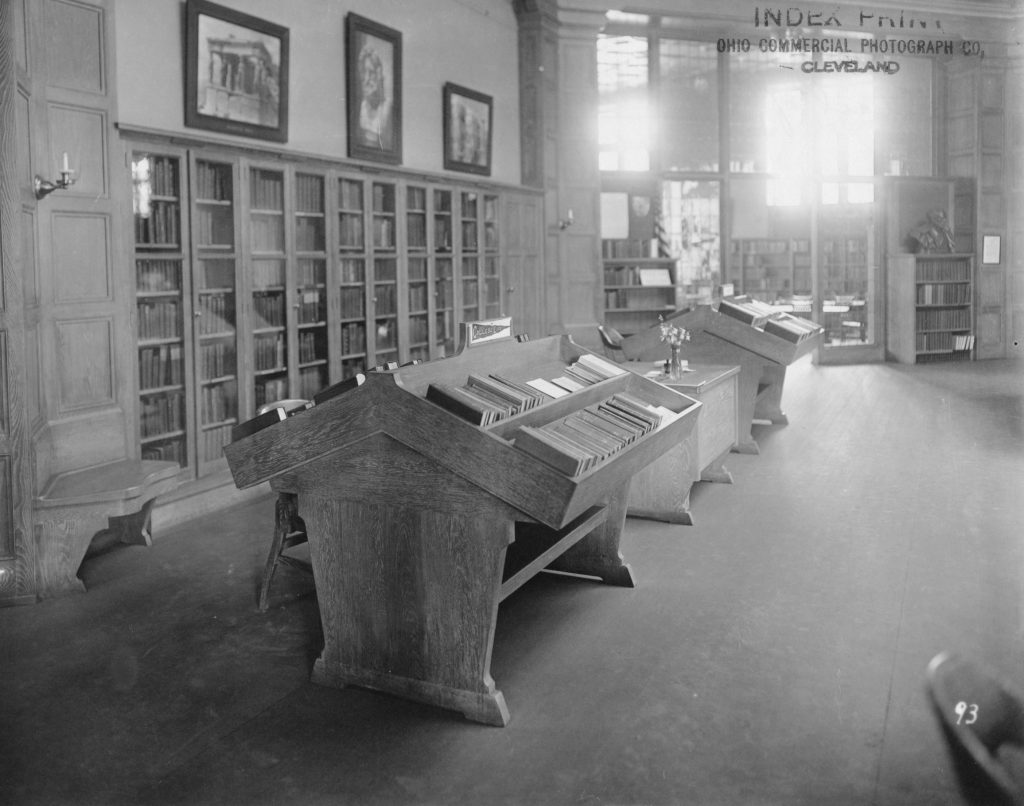 South Branch Circulating Room Bookshelves