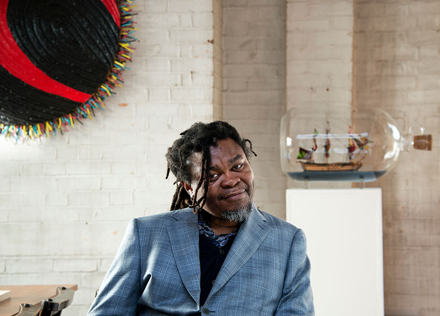 Portrait of Yinka Shonibare