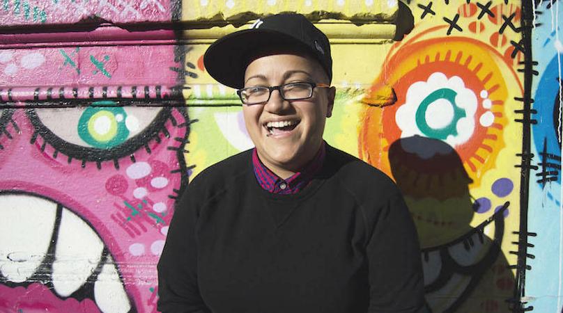 author promotional photo