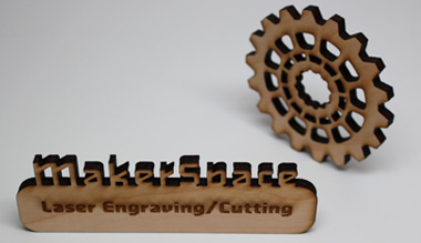Maker space engraving photo