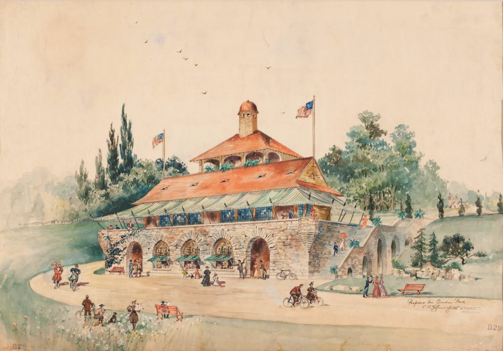 Gordon Park Paviliion (Proposed)