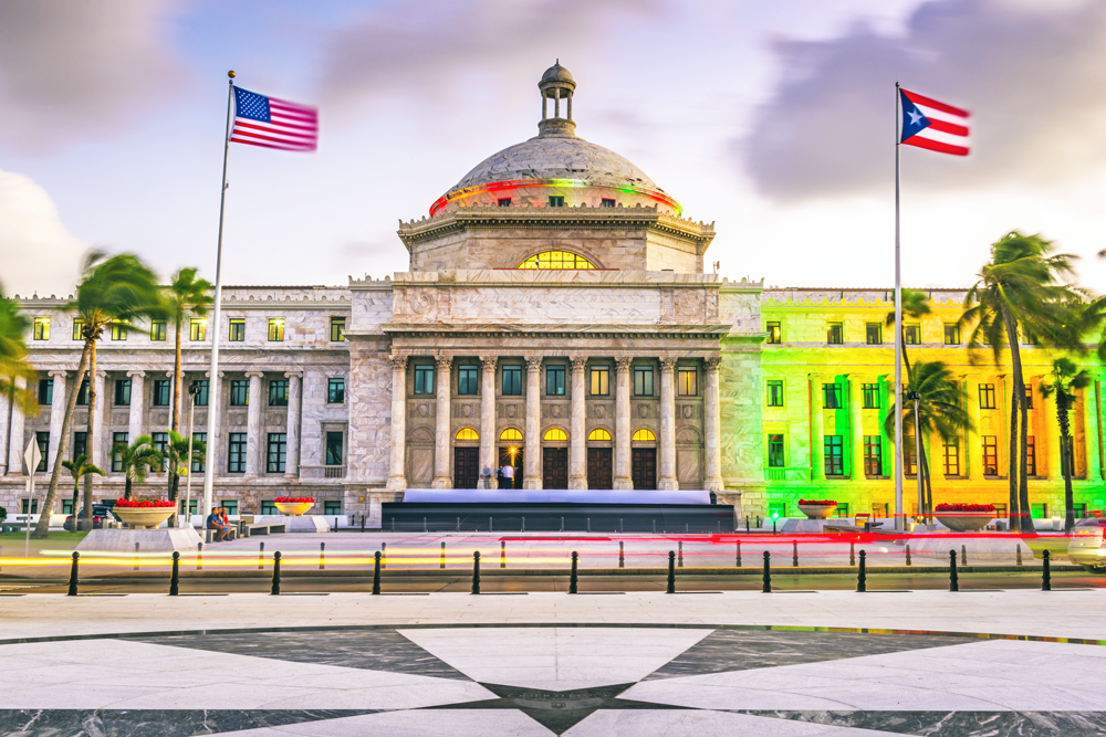 Capitol Building of Puerto Rico, in San Juan