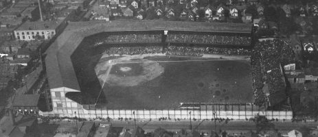 League Park during the 1920 World Series