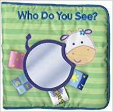 Who Do You See? book jacket with a cartoon cow with a mirror for a body.