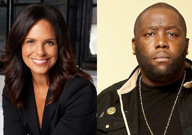 "Soledad O'Brien & ""Killer Mike"" Render"
